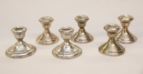 Sterling Weighted Candlesticks