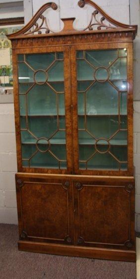 Chippendale Style 4 Door Cabinet