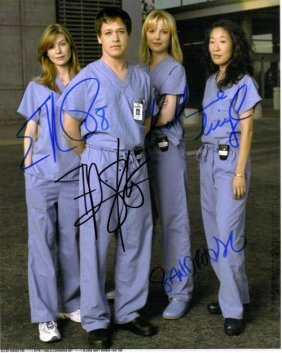 Greys Anatomy Autographed Photo