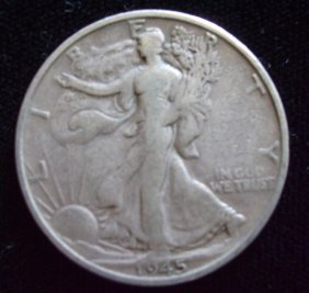 Walking Liberty 1945-S