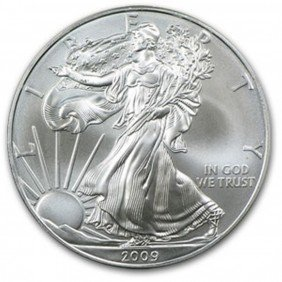 1 Oz. Random Date UNC US Silver Eagle