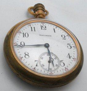 Waltham 15 J Working Pocket Watch