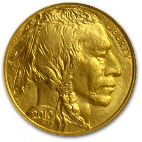 1 Oz Gold Buffalo Bullion 24k Pure