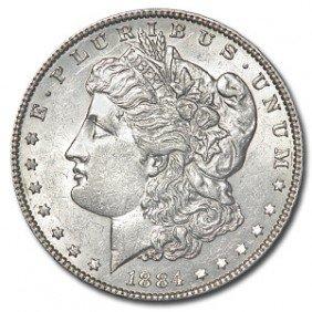 1884 0 Uncirculated Morgan Dollar