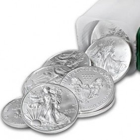 A 1oz. Silver Eagle Bullion