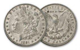 1881 O XF Morgan Silver Dollar