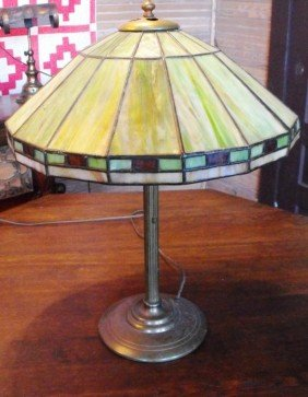 Duffner & Kimberly Arts And Crafts Lamp