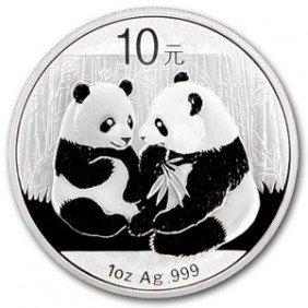 1 Oz. Panda Random Year Bullion SILVER 1 Oz