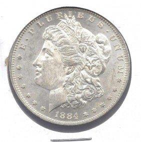 1884 O RARE Prooflike Surfaces! Morgan