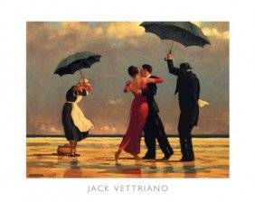 The Singing Butler  By Jack Vettriano Art Print 19.