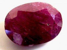 4 Ct. Natural Ruby Gem