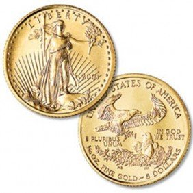 (1) Gold Eagle Bullion