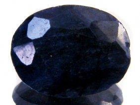 5 Ct. Natural Sapphire Dark Gemstone