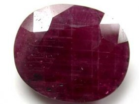 5 Ct. Natural Ruby Gem
