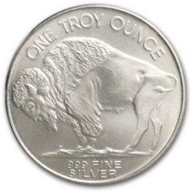 A 1 Oz. Silver American Buffalo Bullion