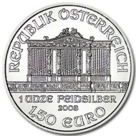 (1) Silver Austrian Philharmonic Bullion