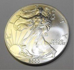 Silver Eagle UNC- Random Year