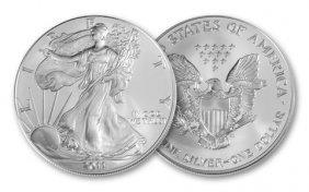 1 Oz. American Silver Eagle -