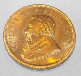 1976 24k Gold Krugerrand 1 Oz. Pure