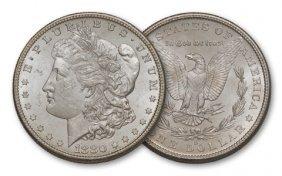 1880-s $1 Morgan BU