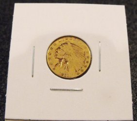 1991 $ 2.5 Indian Gold US Coin