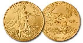 2009 Us Gold Eagle Bullion Coin