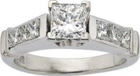 Diamond, Platinum Ring, EGL