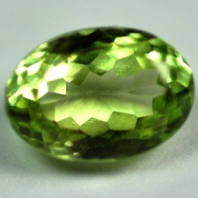 3.40Cts ~NATURAL GREEN SILIMINATE ~Flawless