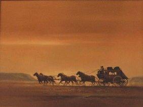"""Bodner Joseph (American 1925-1982)  """"Horse Carr"""