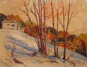 Dery Alex (American 20th C) �Winter Ohio �