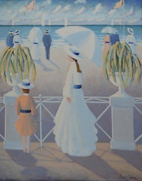 Frans Paul (French 1958) �White Harmony�