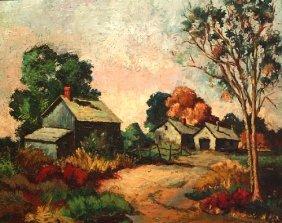 Frick O.Robert (American 1920-1997) �Swiss Landscap