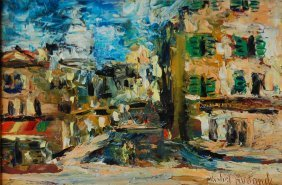 Rostand Michel (French 1895- 1976)  ��City�'
