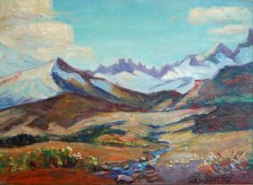 Otis George Demont (American 1879-1962) �Landscape�