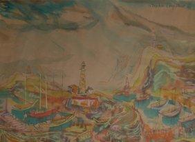 Longstreet Stephen (American 1907-2002)  �Marina�
