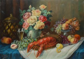 """Thily W.  """"Still Life With Lobster"""""""
