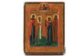 Miniature Russian Icon