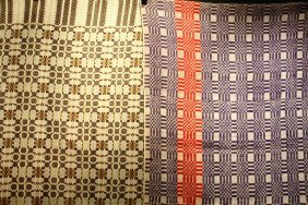"""(2) Summer/winter Coverlets - 60"""" X 76"""" And 86"""" X 106"""""""