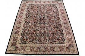 "Kashan Carpet - 7'9"" X 10'3"" Iran, Late 20th C."