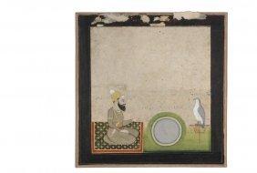 Persian Miniature Painting - 16th C. Safavid Shahnameh
