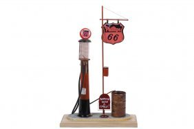 Motoring Collectible - 'phillips 66 Visible Pump', From