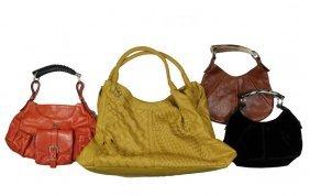 (4) Designer Handbags - Including (3) By Yves Saint