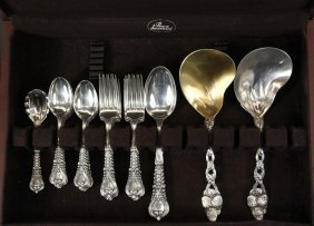 Flatware - (49) Pieces Of Sterling Silver Flatware By