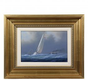 Timothy H. Thompson (contemporary Maine) - Yacht