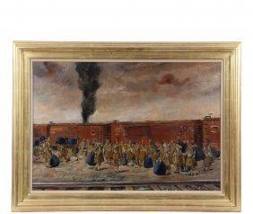 "Louis George Bouche (ny/ma, 1896-1969) - ""war Frieze"","