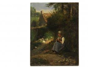 In The Manner Of Jean Francois Millet (france,