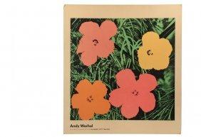 Andy Warhol (ny/pa, 1928-1987) - Rare Exhibition Poster