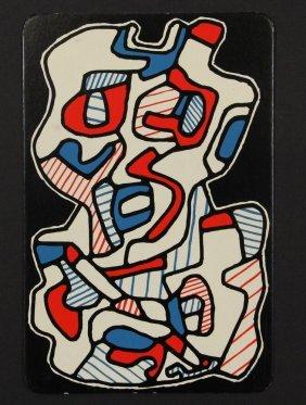 "Jean Dubuffet (france, 1901-1985) - ""41. L'ecrivain"","