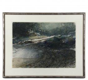 Carl Sublett (ct/italy, 1919-2008) - Maine Coast With
