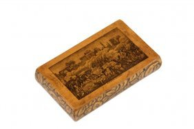 French Military Commemorative Cheroot Case - 19th C
